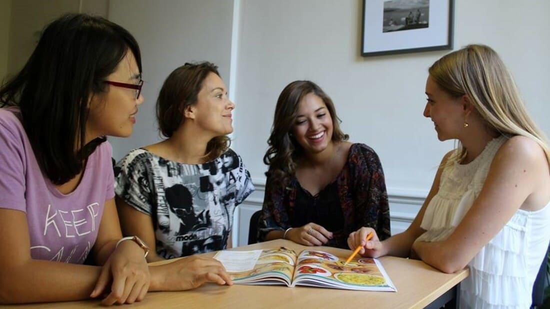 Alianza francesa de Montpellier curso de francés França