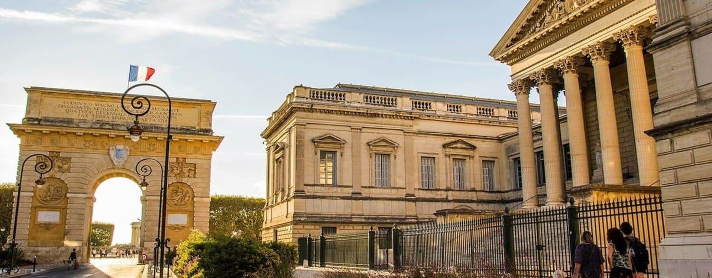 Aprender francês em Montpellier em Francia