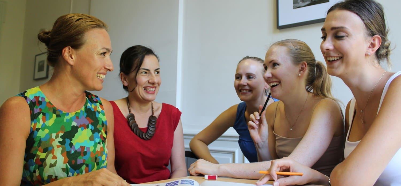 Aulas de lingua francesa programas de imersao