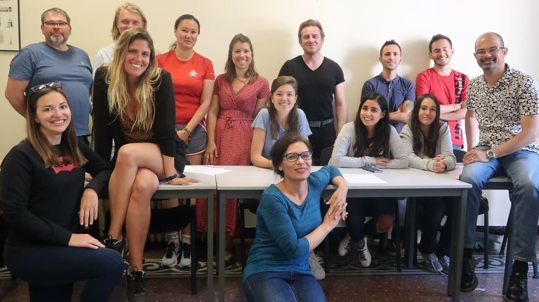 Curso de francês para adultos em Montpellier