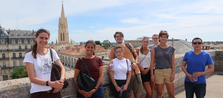 imersão francesa em Montpellier