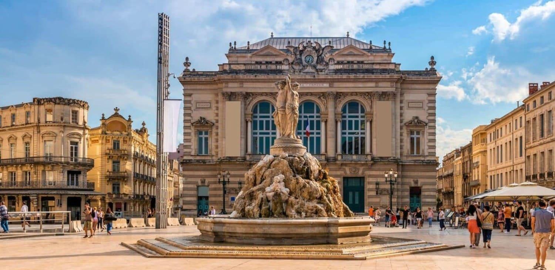 Instituto de lingua francesa em Montpellier