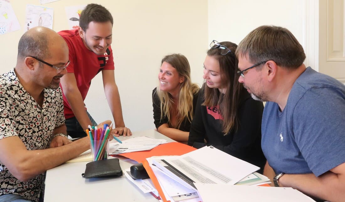 Aprender frances em Montpellier