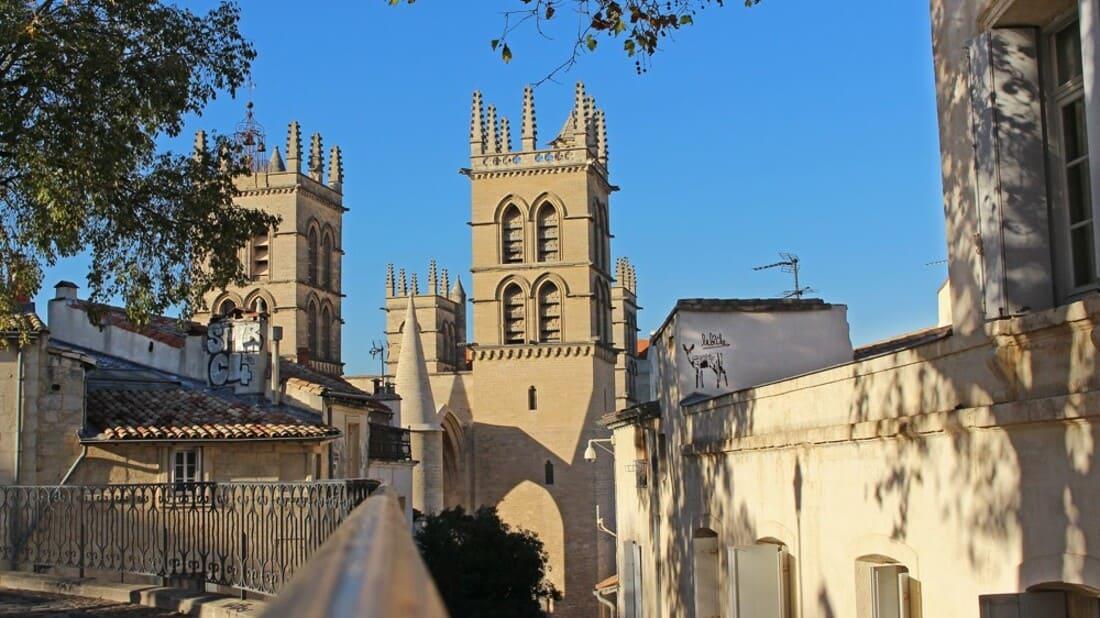 Cidade montpellier França