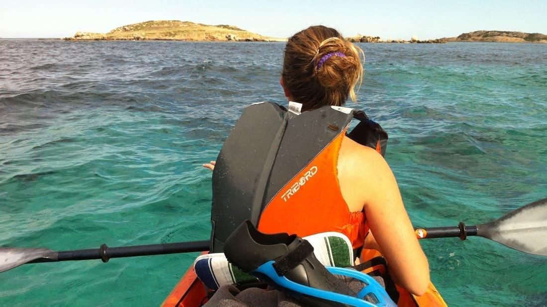 Francês e windsurfing