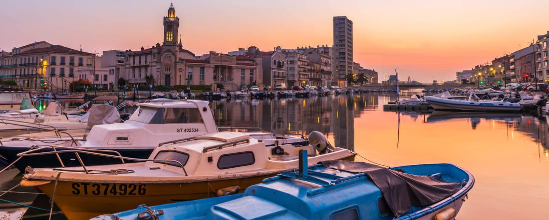Sète Venise de l'Hérault